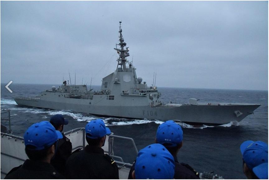 親善訓練 スペイン海軍「MENDES NUMEZ」_s
