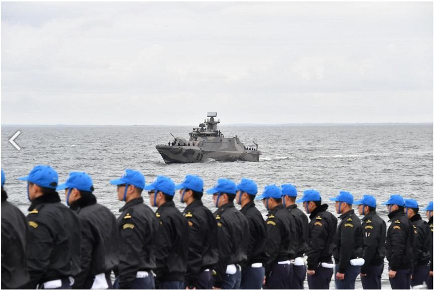 親善訓練 フィンランド海軍_s